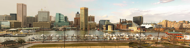 Inner Harbor Panorama