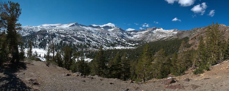 Yosemite Wilderness<br /> Yosemite National Park<br /> (Stitched Panorama)