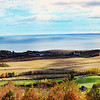 Overlooking the Minas Basin with Blomidon to the left