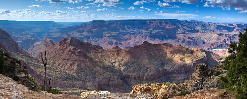 Desert View Panorama<br /> Grand Canyon National Park<br /> (Stitched Panorama)