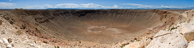 Meteor Crater<br /> (Stitched Panorama)