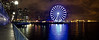 The Great Wheel, Seattle. Panorama