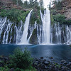 McArthur-Burney Falls II<br /> Shasta County, California<br /> (Stitched Panorama)