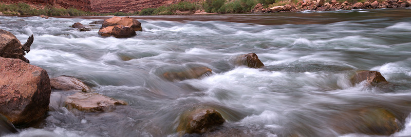 North Canyon Rapids<br /> Grand Canyon National Park<br /> (Stitched Panorama)