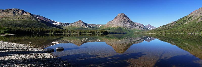 Two Medicine Lake Pano