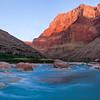 Little Colorado Sunrise<br /> Grand Canyon National Park, Arizona<br /> (Stitched Panorama)