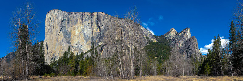 El Capitan<br /> Yosemite National Park, California<br /> (Stitched Panorama)
