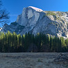 Majestic Half Dome<br /> Yosemite National Park, California<br /> (Stitched Panorama)