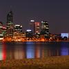 City of Perth, Western Australia ,  Dusk  - 19 September 2011