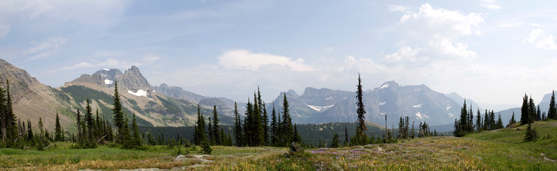 View from Granite Park Chalet (MT)