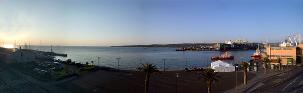 Koper harbour.