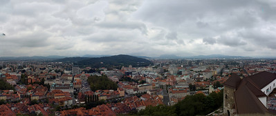 View from Ljubljana castle...