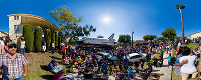 Endeavour at Crenshaw