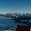 Panorama von der Rigi mit Nebelmeer