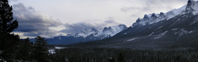 East of Banff, AB Canada