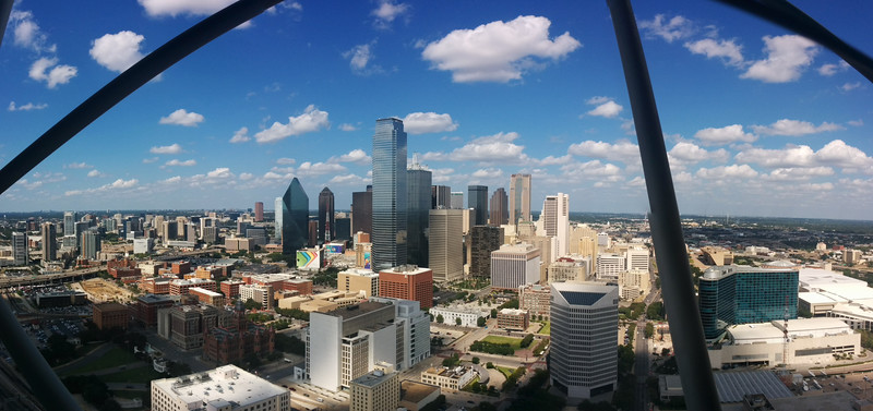 Dallas Skyline from Reunion Tower