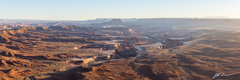 Green River Overlook in Canyonlands National Park, Utah