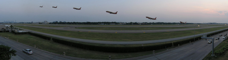 Dallas Love Field - Southwest takeoff