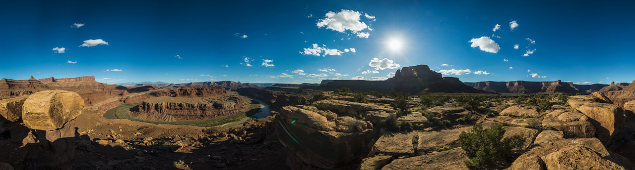 Canyonlands Gooseneck Bend Panorama
