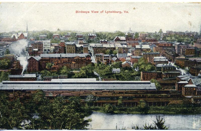 Birdseye View of Lynchburg, Va. (03015)