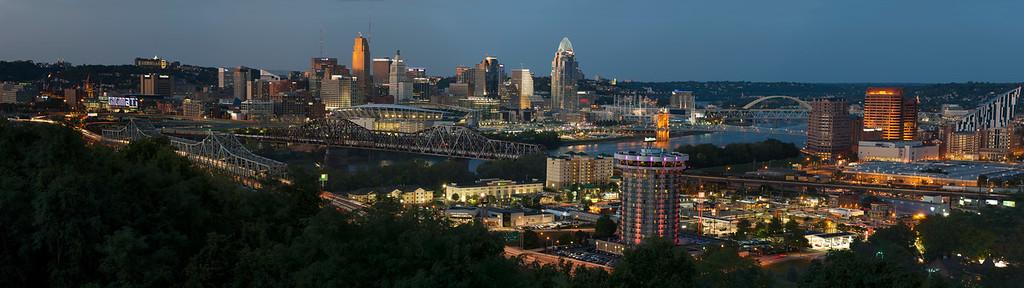 Cincinnati  Skyline Panorama