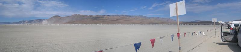 Exodus line -- Burning Man 2011, Black Rock City, Nevada