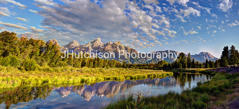 Early Morning Light at Schwabacher Landing