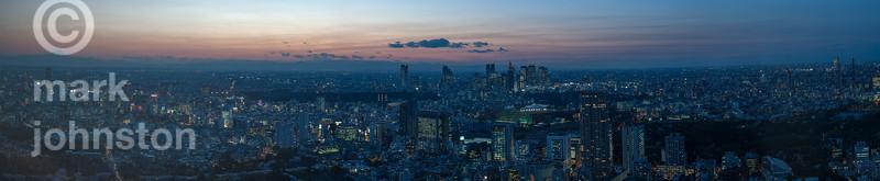 Tokyo - April evening