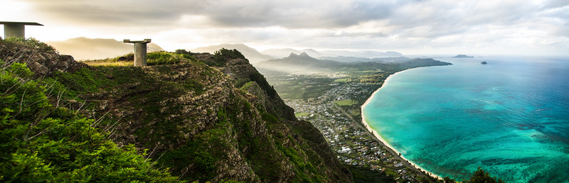 Overlooking Waimanalo Bay