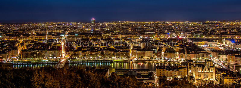 Lyon by night