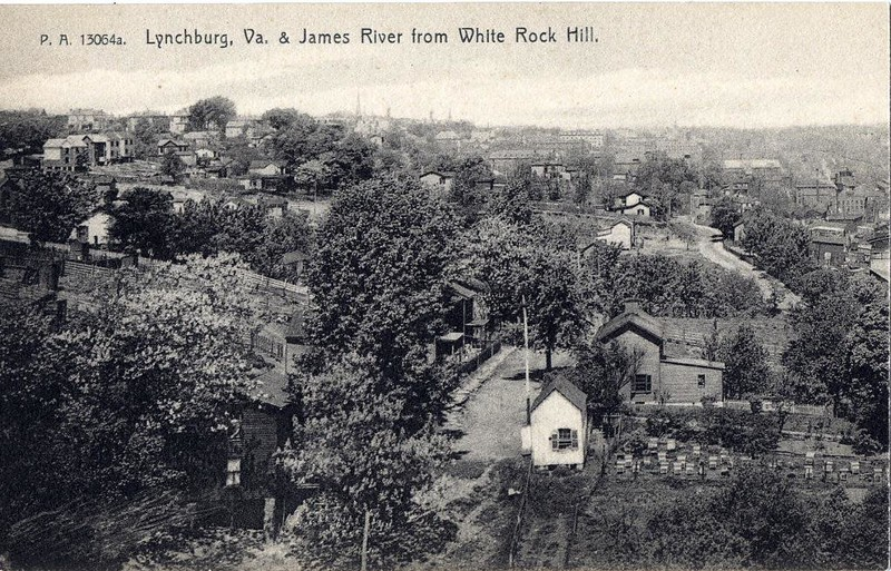 Postcard View from White Rock Hill, Part I (05058)