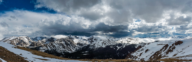5-28-16 Rocky Mountain National Park in Panorama