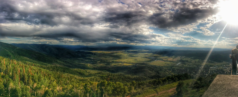 View from Mt Werner