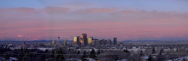 Calgary Skyline, Calgary, AB Canada