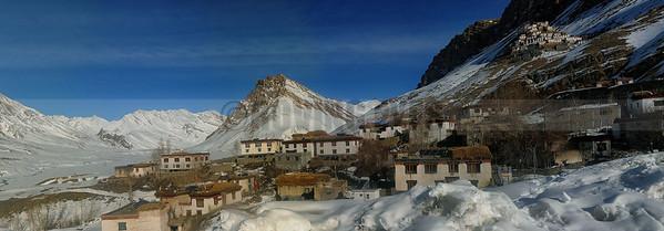 P20:Key Monastery and Key village, Spiti Valley, Himachal Pradesh