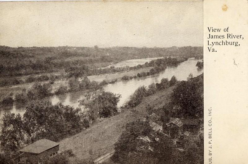 Postcard View James River (05060)