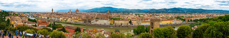 High Resolution Cityscape of Florence, Italy