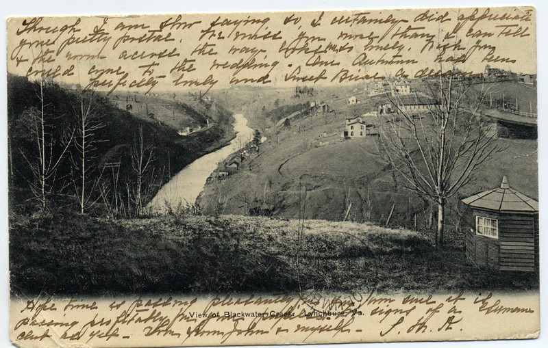 Postcard with a view of Blackwater Creek (03246)