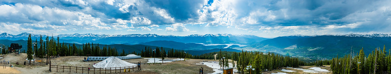 6-17-16 The top of Keystone in Panorama, 122 Megapixels