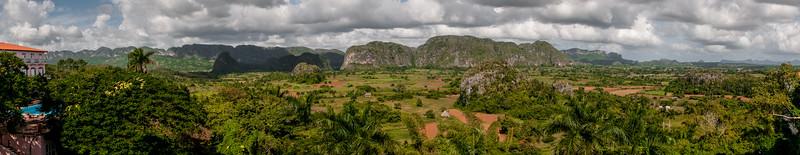 View across Vinales ... Cuba
