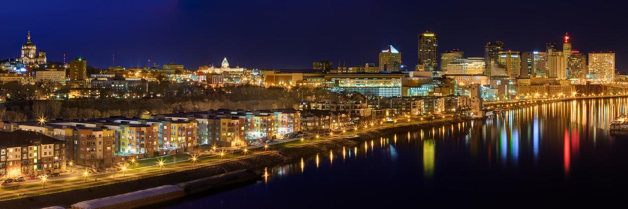 Capital City at Night