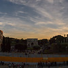 Colosseum at sunset, Rome, Italy