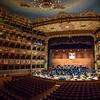 Panorama of Teatro La Fenice, Venice Opera House, Campo San Fantin, Venice, Italy