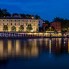 Blue Hour on the Saône in Lyon