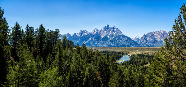 Kemmerer___Snake River View of the Grand Tetons