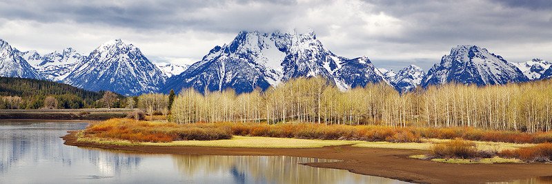 Oxbow Bend on the Snake River