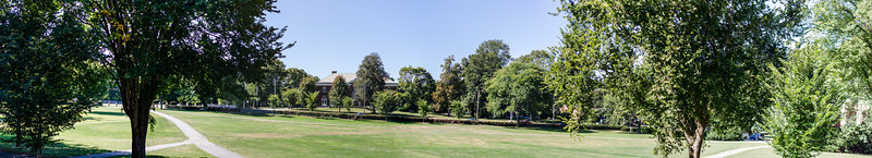 Phillips Academy green pano, color