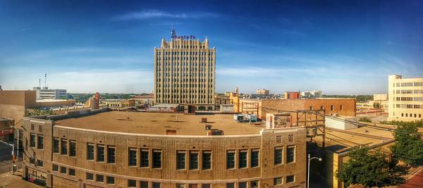 Abilene, TX - Santa Fe building