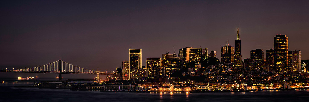 San Francisco Lights On