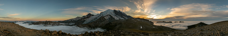 Second Burrows Mt Ranier Pano